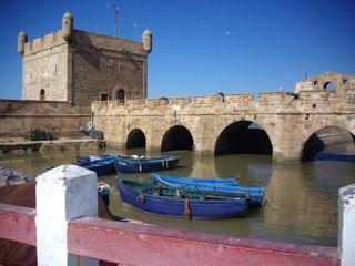 Essaouira - le port