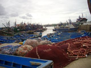 Essaouira le port