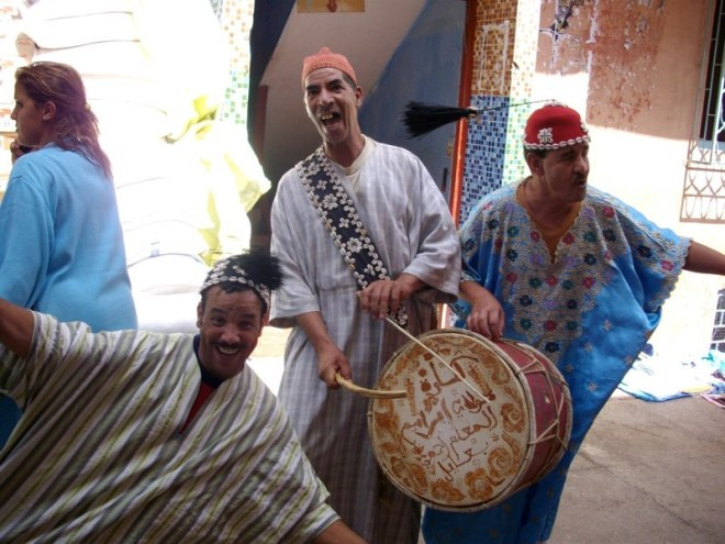 faux gnawat - Moulay Brahim