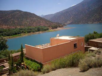 le lac de Ouirgane...