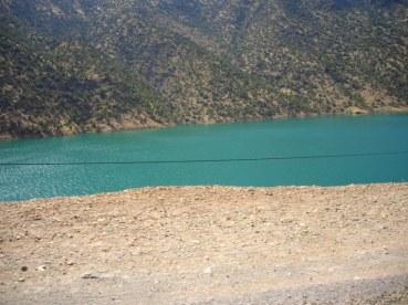 lac de Ouirgane - route d'Ijoukak
