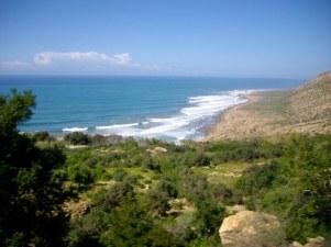 route d'Imsouane entre Essaouira et Agadir