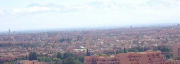 Marrakech et l'Atlas en hivers