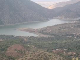 le lac de Ouirgane a Tirkrist