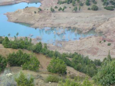 Le lac en fevrier