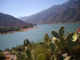 le lac de Ouirgane