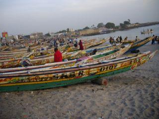 retour de pêche a Dakar
