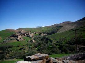 Tanzat - hameau berbère
